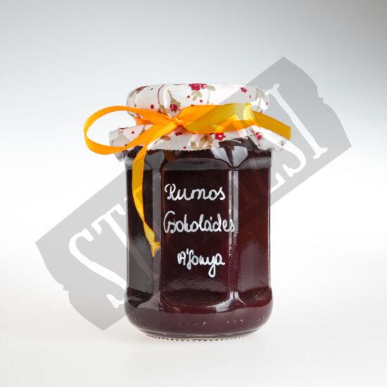 Rumos-csokoládés áfonyalekvár - 200g