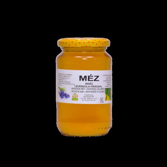 Akácméz levendulavirággal - 500g