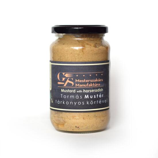Tormás mustár tárkonyos körtedarabokkal - 450g