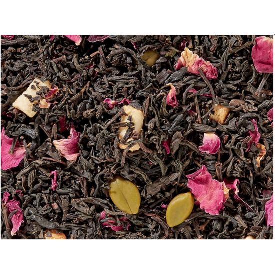 Fekete tea keverék pisztácia & marcipán ízű tea - 100g