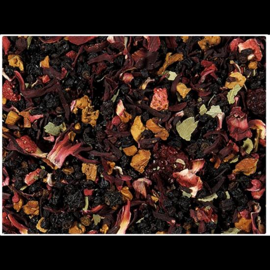 Négy piros gyümölcs tea - 100g